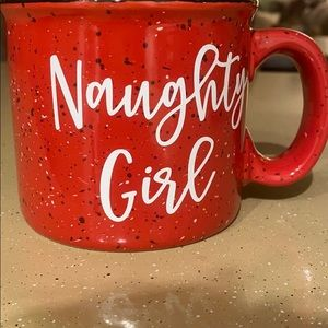 Naughty girl store mug